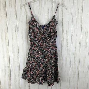 Aeropostale Floral Ruffle Dress Size M